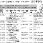 たまプラーザ地域ケアプラザ 平成29年1月行事予定